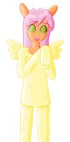 Maria Fluttershy by mushisan