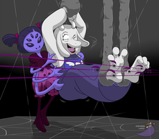 Muffet's business negotiations by PaladinGalahad