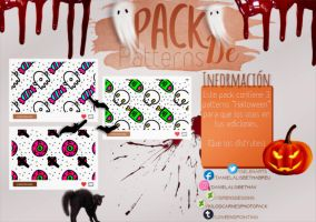 ~.Pack de Patterns #18 {Halloween} by ISirensDesigns