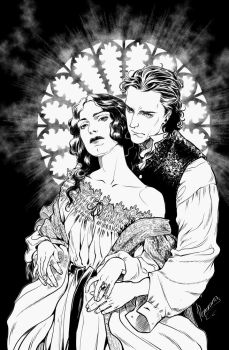 Lucille and Thomas by rerekina