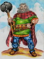 Sucellos god of the celts by danbrenus