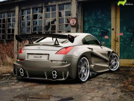 Nissan 350Z by blackdoggdesign
