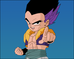 Gotenks Remastered by firebladenatjox