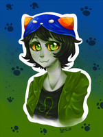 Homestuck - Nepeta by kumo-e