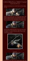 Metal Gear Solid 4 Tutorial by CobraGFX
