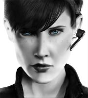Agent Hill [WIP] by Alannah-Rose