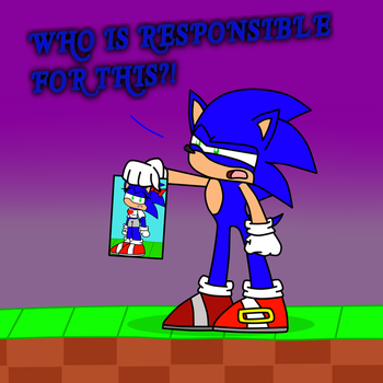 .:SONIC THE HEDGEHOG:.Unusual Discovery by Implosion-Explosion