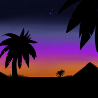Palms by Xeshaire