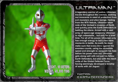 G Unleashed: Ultraman by MegaZeo