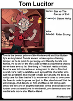 Animated All Stars: Tom Lucitor by FireMaster92