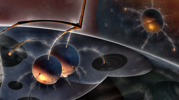 Danger on the black hole by Margot1942