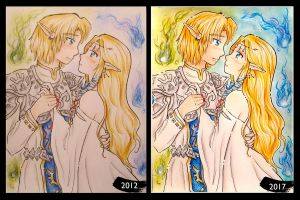 Remake Wedding Zelink by zilia-k