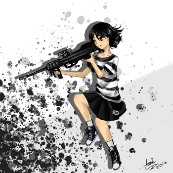 Sniper Girl by Explosion245