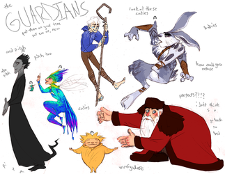 guardians of childhood by murr-ma-ing