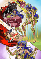 Yu-Gi-Oh Valkyrie vs. Reptile Creature Page 3 by zetaxinn