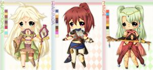RPG Adoptable set 06 - AUCTION - CLOSED by plurain