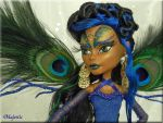 Majestic Exquisite Custom OOAK Monster High by KrisKreations