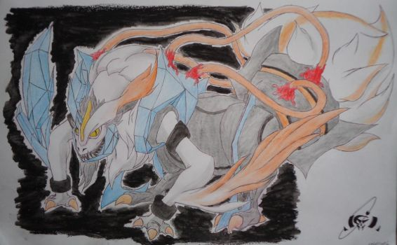 White Kyurem by Socren