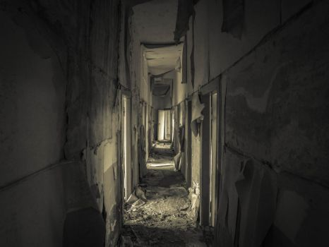 Narrow Hallway by Soar22