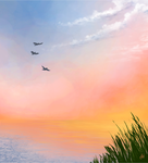 Painted Sky by uneekL4evr