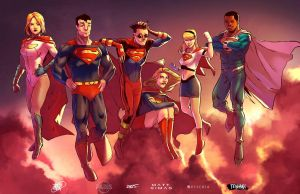 Super Family collab by ParisAlleyne