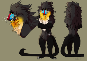 Mandrill by Valsaid
