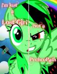Two Sides- Lime Light by MLPMusicgirlpro