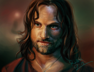 Photo study - Aragorn by art-by-nemesis