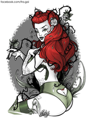 DC Bombshells: Poison Ivy by fra-gai