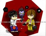 Death note - YOU RIPPED IT by Evil-usagi