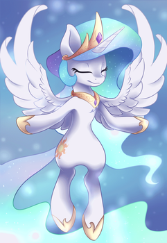 Celestia [Animated] by Scarlet-Spectrum