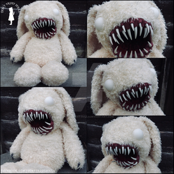 Zombie Bunny Beast by Dont-Trust-Dolls