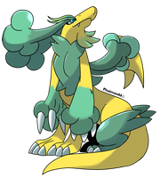 Fakemon Clovyr by Phatmon