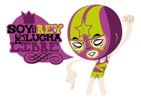 lucha libre by stag-and-company