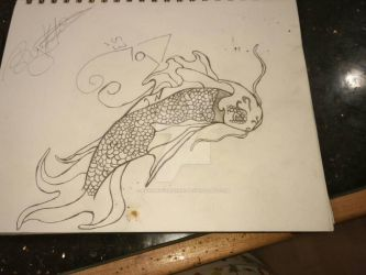 fish tattoo needs be finished by Kristal5544C