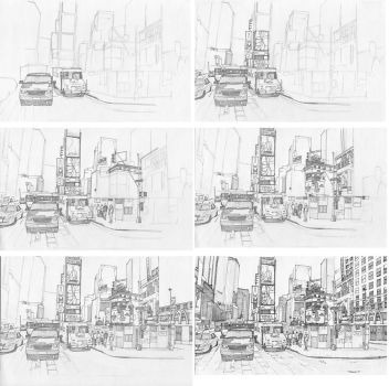 Times Square stage process by Edgeman13