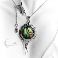 EXIRNGTUS - silver and labradorite by LUNARIEEN
