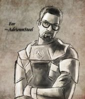 Gordon Freeman by svyre