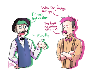 Jameson and Wilford ! by aileenarip