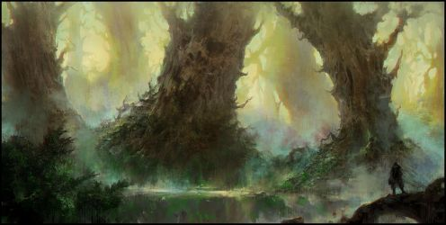 Strange Forest by ChrisCold