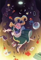 Alice Down the Rabbit Hole by DylanBonner