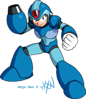 HYLD 6 - Mega Man X by kevinxnelms