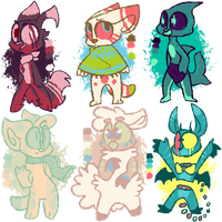 Point adopts!! OPEN! by OliveCow