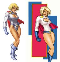 Power Girl paintover by puppeli