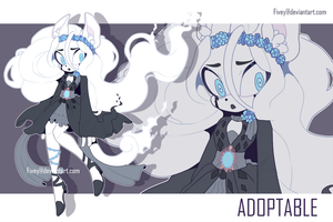 [CLOSED ADOPTABLE] Aishya - Ghost by vena-num