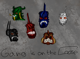 The Gang is on the Loose by MatoroTBS