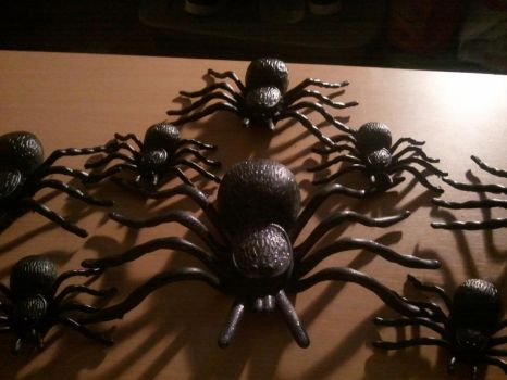 My Flocked Tarantulas Collection 2 by BenorianHardback26