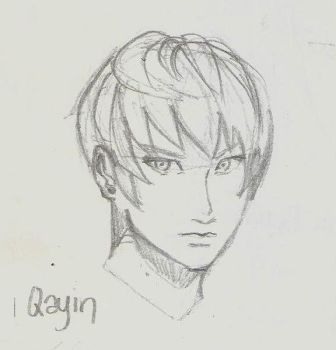 Quick Sketch - Qayin Khevah by BunnyVoid