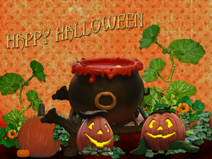 Happy Halloween Wallpaper by WDWParksGal