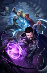 Dr Strange issue #18 variant cover by PatrickBrown